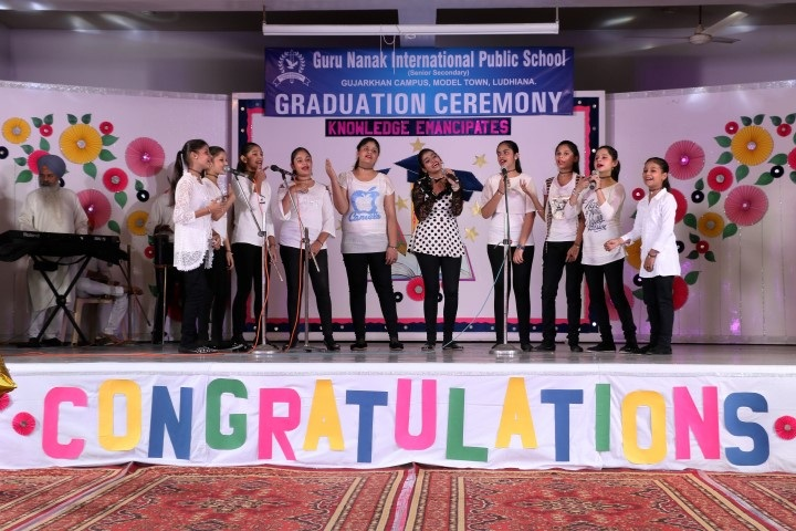 Gurunanak International Public School-Graduation ceremony