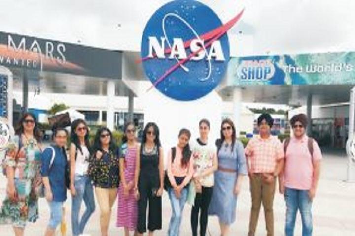 Gurunanak International Public School-NASA Tour