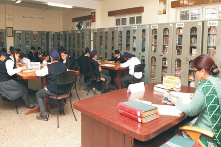 Gurunanak International Public School-Library