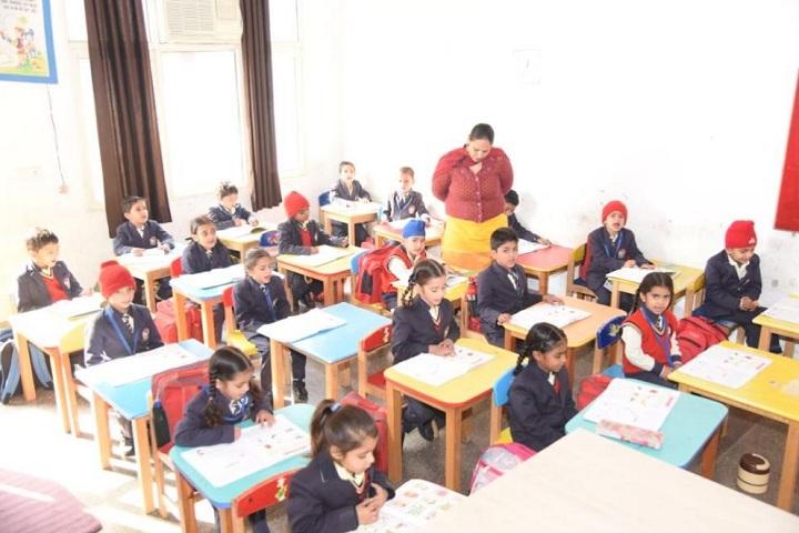 Gyan Gunn Sagar International School-Pre Primary Classroom