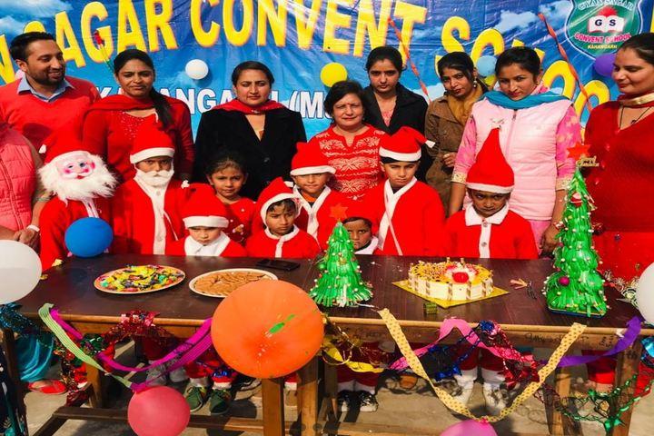 Gyan Sagar Convent School-Christmas Celebrations