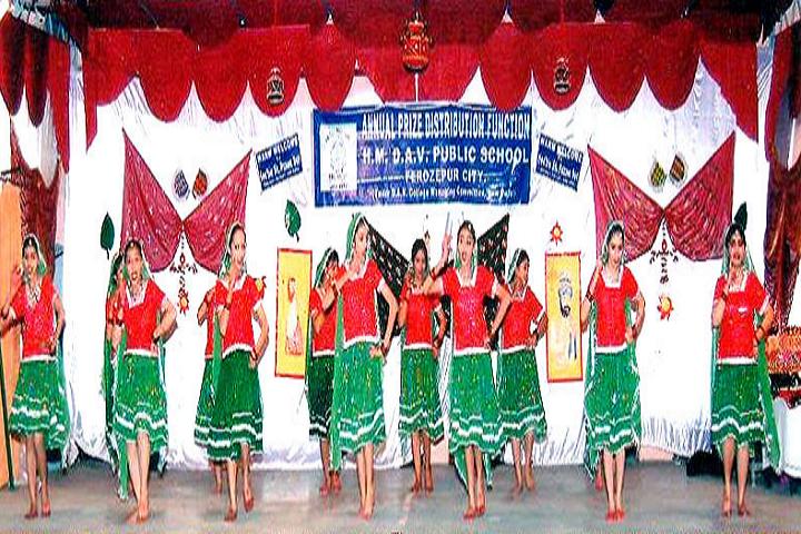H M DAV Public School-Dances