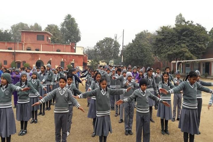 Henderson Jubilee School-School Drill