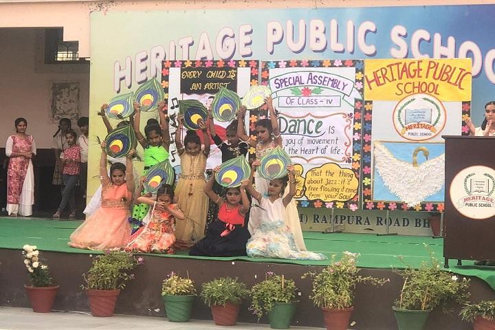 Heritage Public School-Poster Presentation
