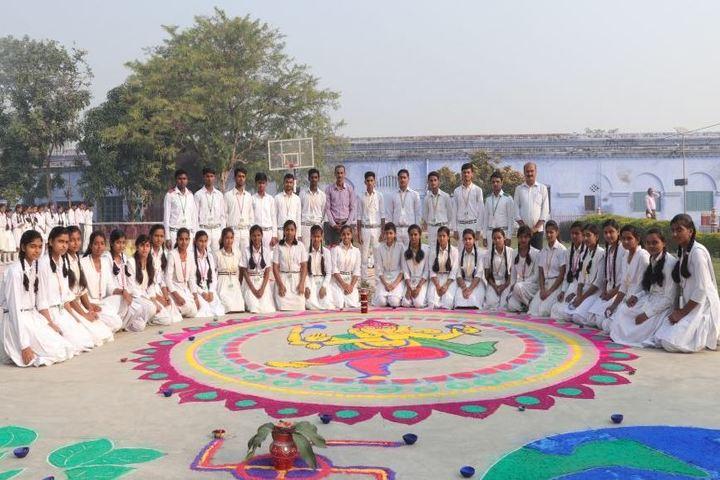 Imperial Public School-Rangoli