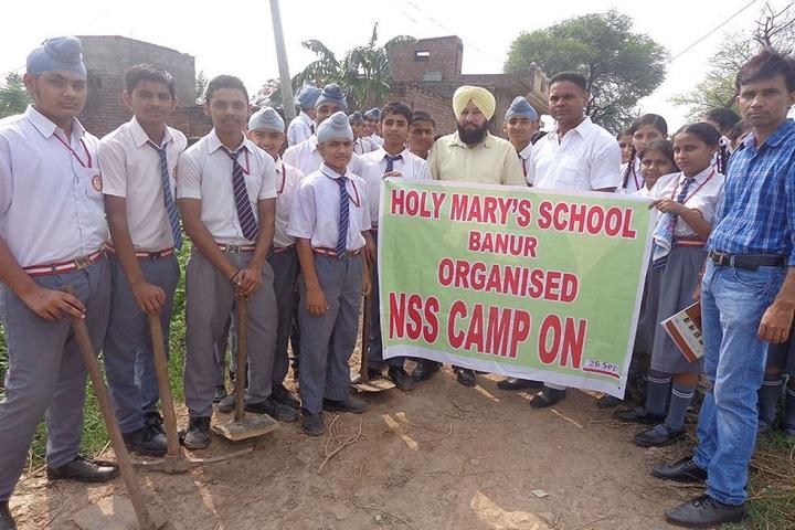 """Holy Marys School-Nss Camp"""