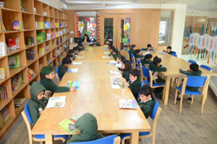 HVM Convent School-Library