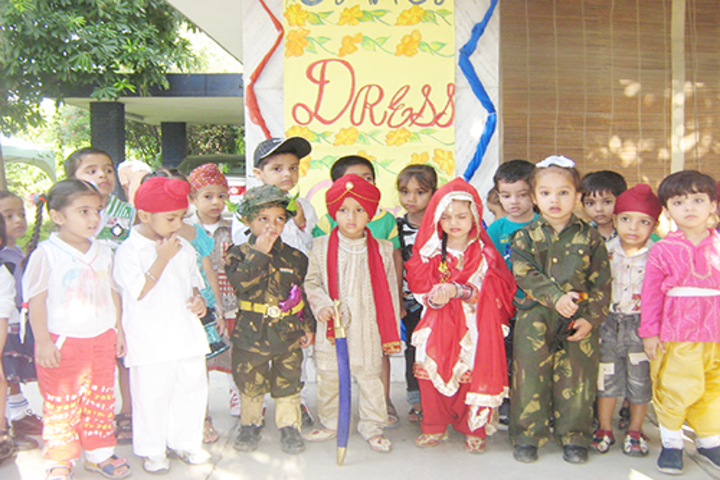 Indian Public School-Fancy Dress Event