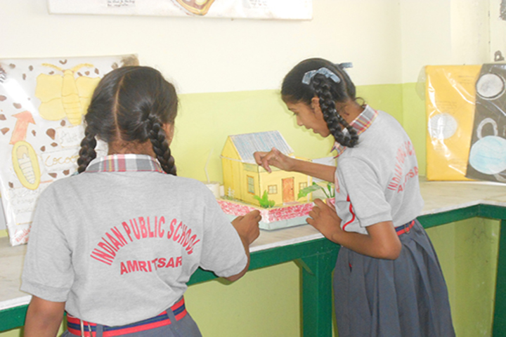 Indian Public School-Science Exhibition