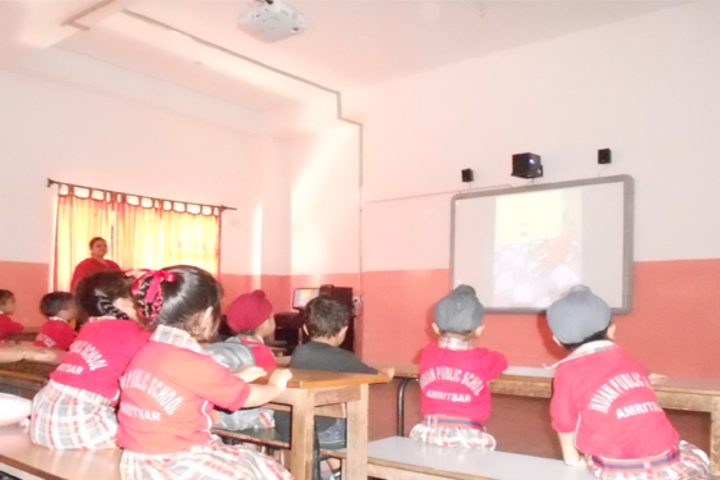 Indian Public School-Smart Classrooms