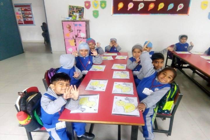 Indus Public School-Drawing Event