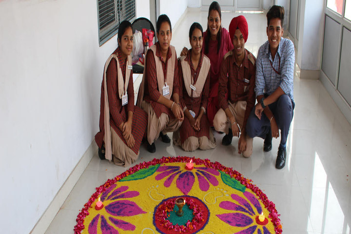 Indus Public School-Rangoli Event