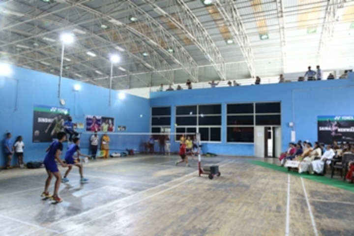 Infant Jesus Convent School-Badminton Court
