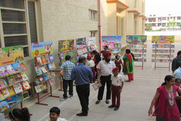 Infant Jesus Convent School-Book fair