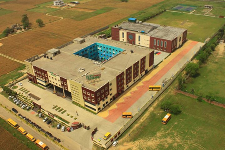 Ivy World School-Arial View