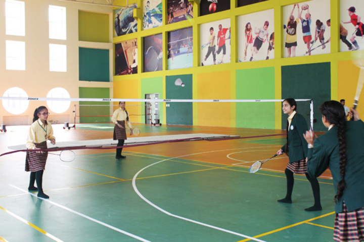 Ivy World School-Badminton Court