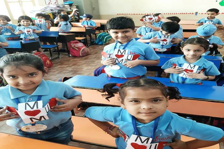 J M K International School-Classroom