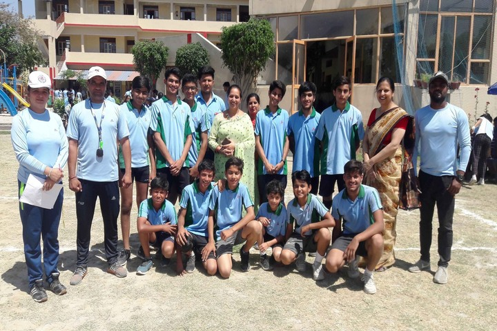 J M K International School-Sports