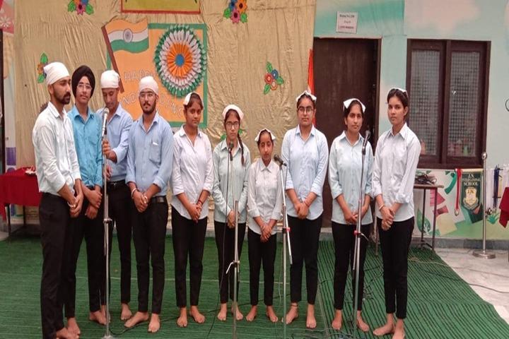 J N International School-Group Singing