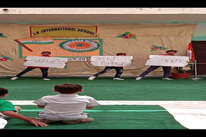 J N International School-Independence Day