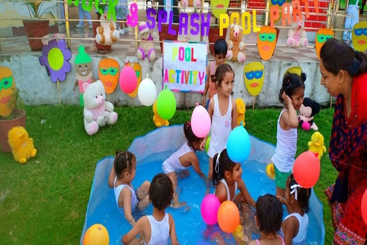 J N International School-Pool Activity