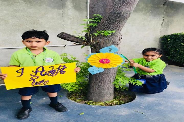 J R Millennium School-Save Trees