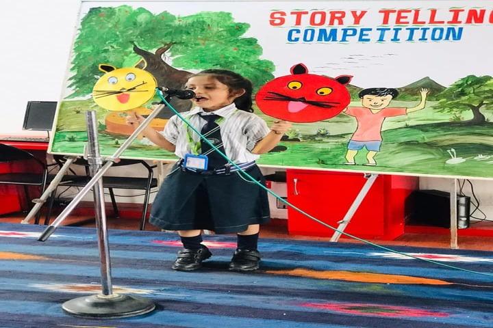 J R Millennium School-Story Telling