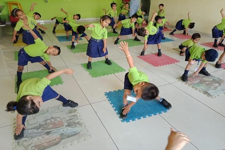 J R Millennium School-Yoga