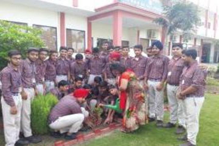 Jagan Nath Jain Dav Public School-Planting Tree