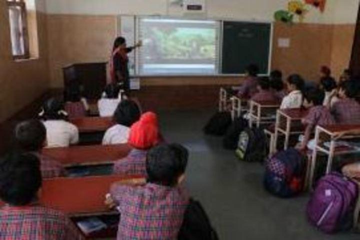 Jagan Nath Jain Dav Public School-Smart Class