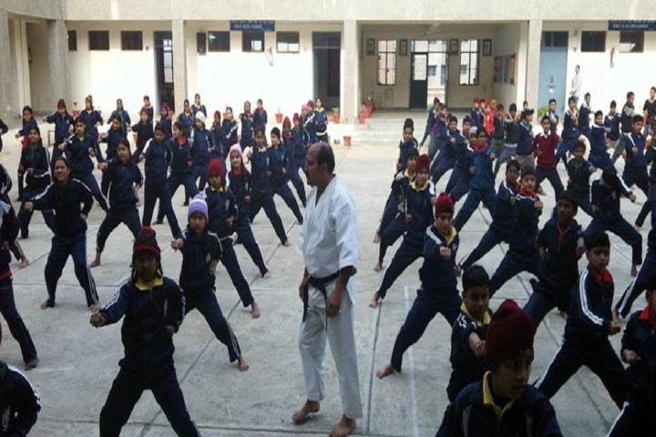 Jawahar Navodaya Vidyalaya-Karate Practice