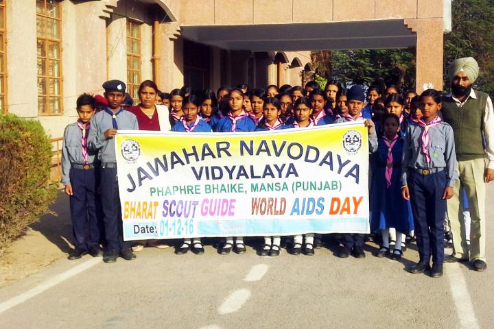 Jawahar Navodaya Vidyalaya-Scout