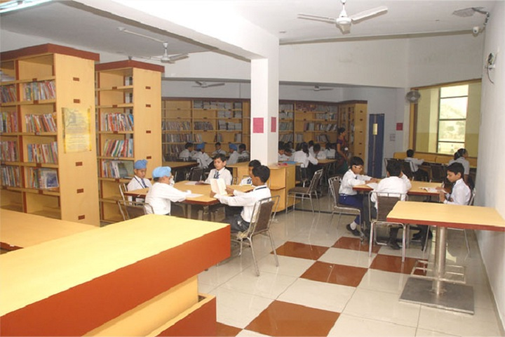 Jesus Sacred Heart School-Library