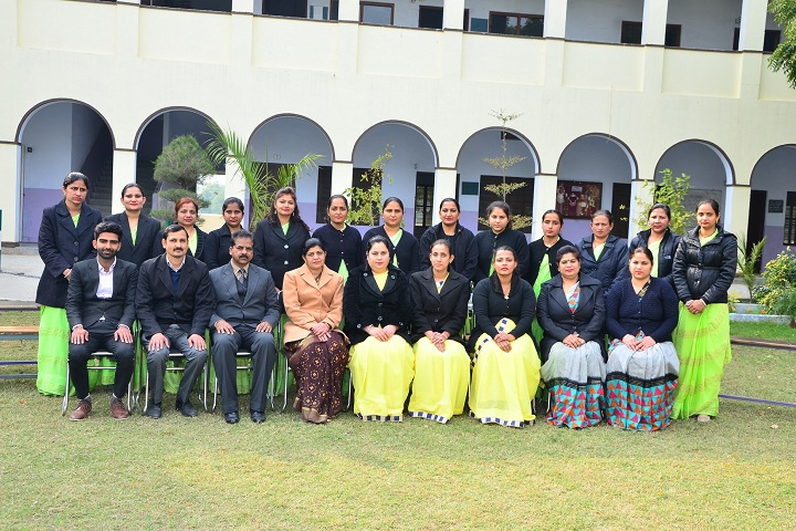 Jhamku Devi Girls School-School Staff