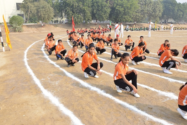 Jhamku Devi Girls School-Sports Meet