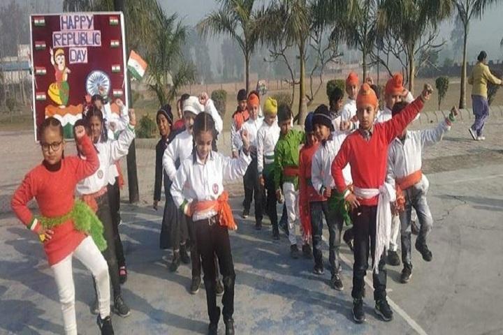 K D International School-Dancing Activity