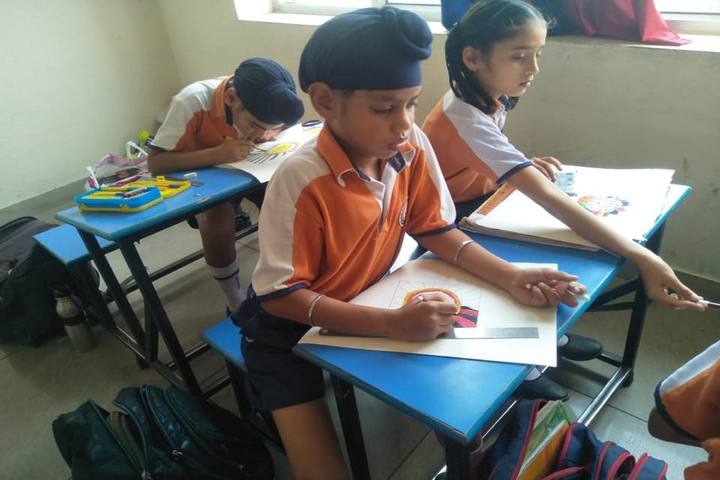 K D International School-Drawing Competition