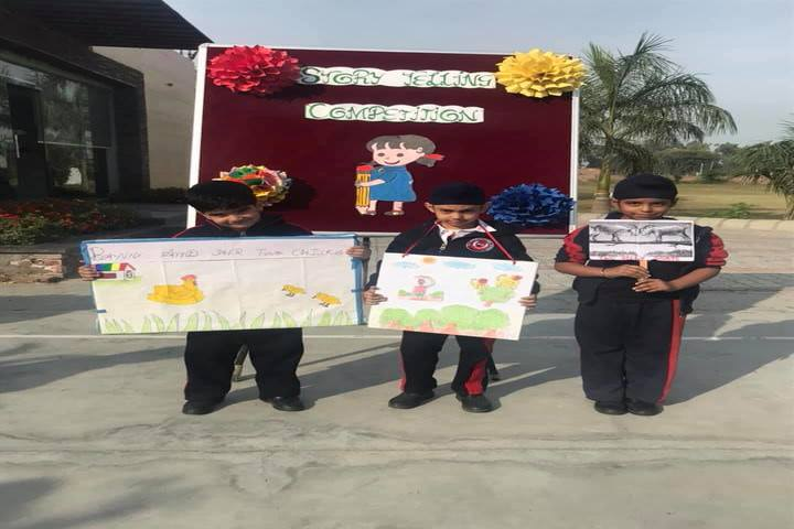 K D International School-Story Telling Competition