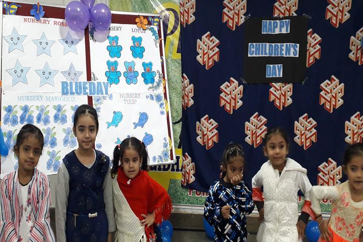 Kalgidhar International School-Blue Day