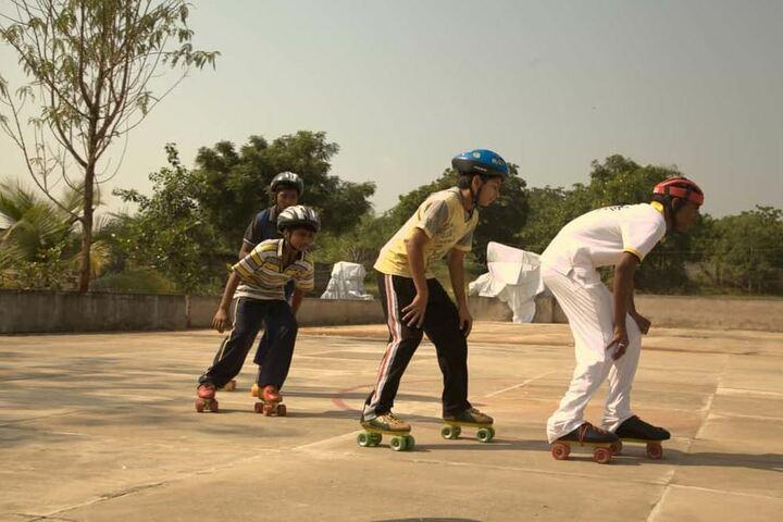 Ameya World School-Skating