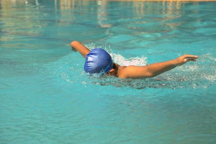 Ameya World School-Swimming Pool