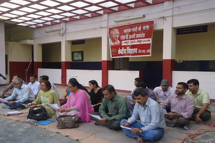 Kendriya Vidyalaya-All Faith Prayer