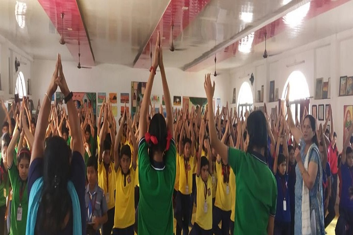 Kendriya Vidyalaya No 1-Yoga Day