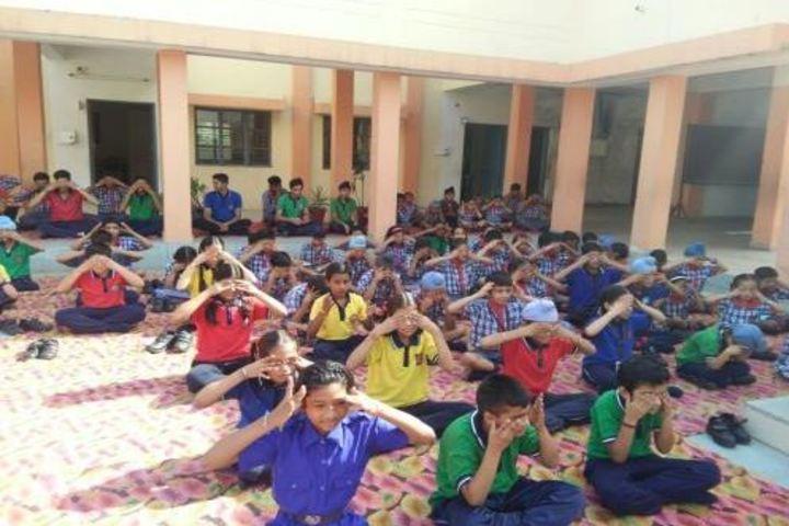 Kendriya Vidyalaya No 3-Yoga Day