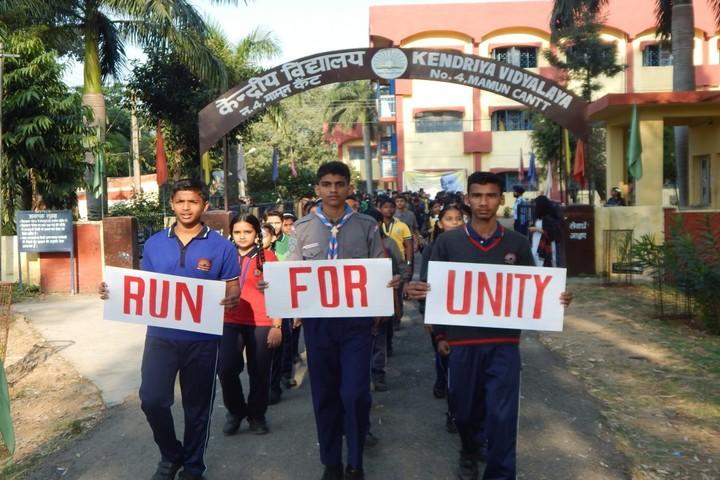 Kendriya Vidyalaya No 4-Run For Unity