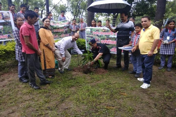 Kendriya Vidyalaya No 4-Tree Plantation