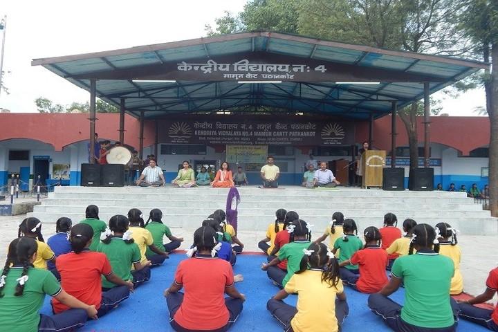 Kendriya Vidyalaya No 4-Yoga Day