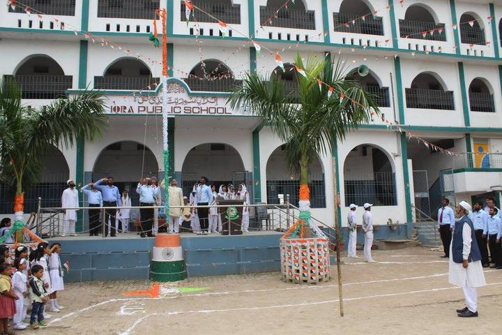 Iqra Public School-Flag Hosting