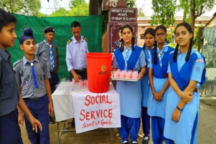 Kendriya Vidyalaya No-4-Social Service Activity