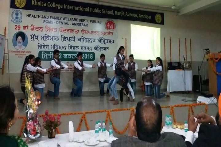 Khalsa College International Public School-Activity